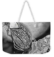 Weekender Tote Bag featuring the digital art On Becoming by Carol Jacobs