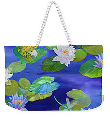On Big Fresh Pond Weekender Tote Bag by Kimberly McSparran