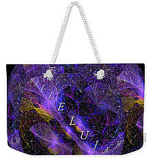 On Earth As It Is In Heaven Weekender Tote Bag