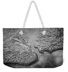 On Frozen Pond Collection 1 Weekender Tote Bag by Roxy Hurtubise