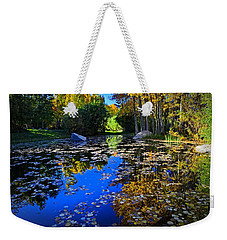 On Golden Pond  Weekender Tote Bag