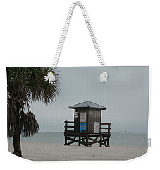 No Lifeguard On Duty Weekender Tote Bag by Christiane Schulze Art And Photography