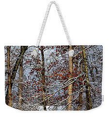 On Such A Winter's Day Weekender Tote Bag