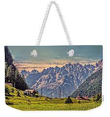 On The Alp Weekender Tote Bag