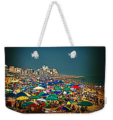 On The Beach In August Weekender Tote Bag