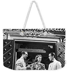 On The Casablanca Set Weekender Tote Bag