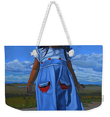 On The Divide Weekender Tote Bag
