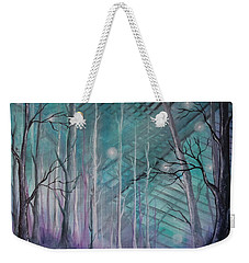 On The Edge Of Abstract Weekender Tote Bag