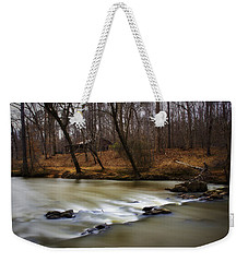 Weekender Tote Bag featuring the photograph On The Eno River by Ben Shields