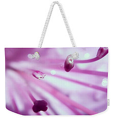 On The Inside Weekender Tote Bag by Kerri Farley