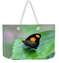 On The Leaf Weekender Tote Bag