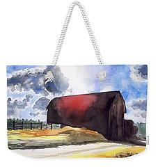 On The Macon Road. - Saline Michigan Weekender Tote Bag