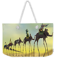 On The Move 2 Without Moon Weekender Tote Bag