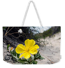 Weekender Tote Bag featuring the photograph On The Path by Sennie Pierson