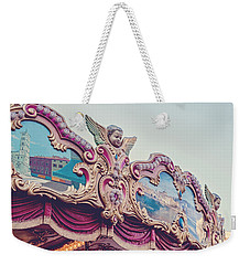 On The Piazza Weekender Tote Bag by Melanie Alexandra Price