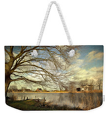 On The River Side Weekender Tote Bag