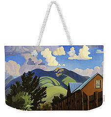 On The Road To Lili's Weekender Tote Bag by Art James West