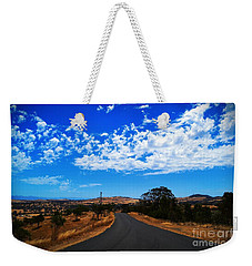 Weekender Tote Bag featuring the photograph The Road To Nowhere  by Naomi Burgess
