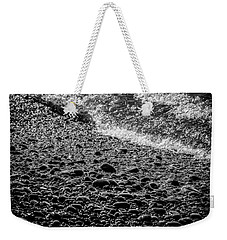 On The Rocks At French Beach Weekender Tote Bag by Roxy Hurtubise