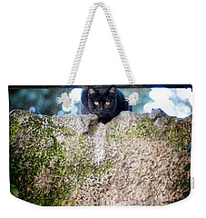 On The Wall Weekender Tote Bag