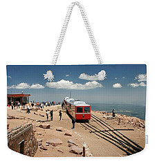On Top Of The World Weekender Tote Bag