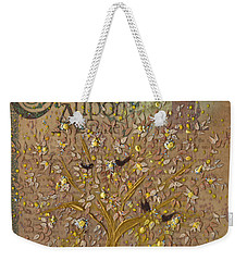 Once Upon A Golden Garden By Jrr Weekender Tote Bag