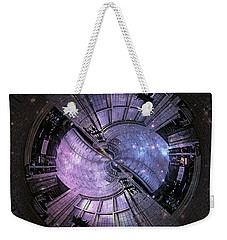 One Bulb Out In A Swirl With A Galaxy Weekender Tote Bag
