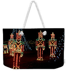One Crooked Toy Soldier Weekender Tote Bag