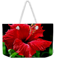 One Day Flower Weekender Tote Bag by Marija Djedovic