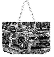 Weekender Tote Bag featuring the photograph One Day by Howard Salmon