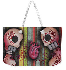 One Love Weekender Tote Bag by Abril Andrade Griffith