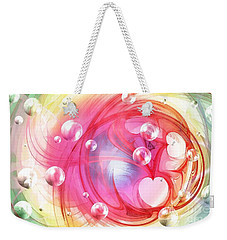 One Love... One Heart... One Life Weekender Tote Bag