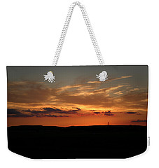 Weekender Tote Bag featuring the photograph One More For The Books by Ben Shields