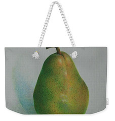 One Of A Pear Weekender Tote Bag by Pamela Clements