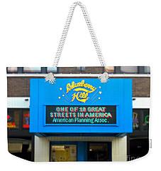 One Of Ten Great Streets In America Weekender Tote Bag