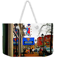 One Of Ten Great Streets Weekender Tote Bag by Kelly Awad