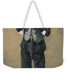 One Of The Few Weekender Tote Bag by Wade Meyers