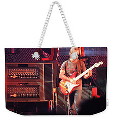 Weekender Tote Bag featuring the photograph One Of The Greatest Guitar Player Ever by Aaron Martens