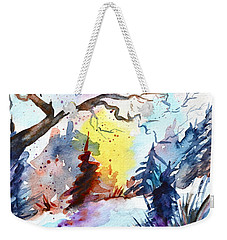 One Of These Mornings Weekender Tote Bag