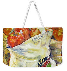 One Peck Weekender Tote Bag by Judith Levins