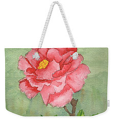One Rose Weekender Tote Bag