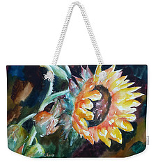 One Sunflower Weekender Tote Bag