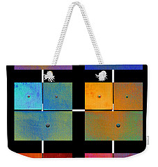 One To Eighteen - Colorful Rust - All Colors Weekender Tote Bag
