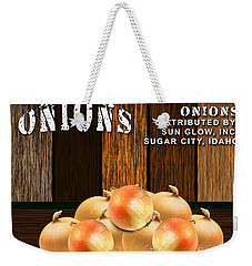 Onion Farm Weekender Tote Bag