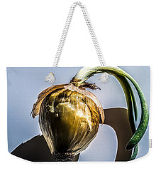 Onion Skin And Shadow Weekender Tote Bag
