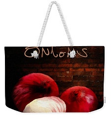 Onions II Weekender Tote Bag by Lourry Legarde