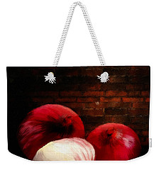 Onions Weekender Tote Bag by Lourry Legarde