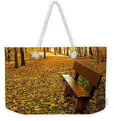 Only Lovers Are Missing Weekender Tote Bag by Zafer Gurel