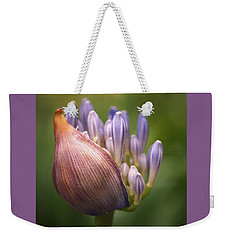 Weekender Tote Bag featuring the photograph Only The Beginning by Rona Black