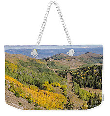 Only The Beginning Weekender Tote Bag by Sue Smith